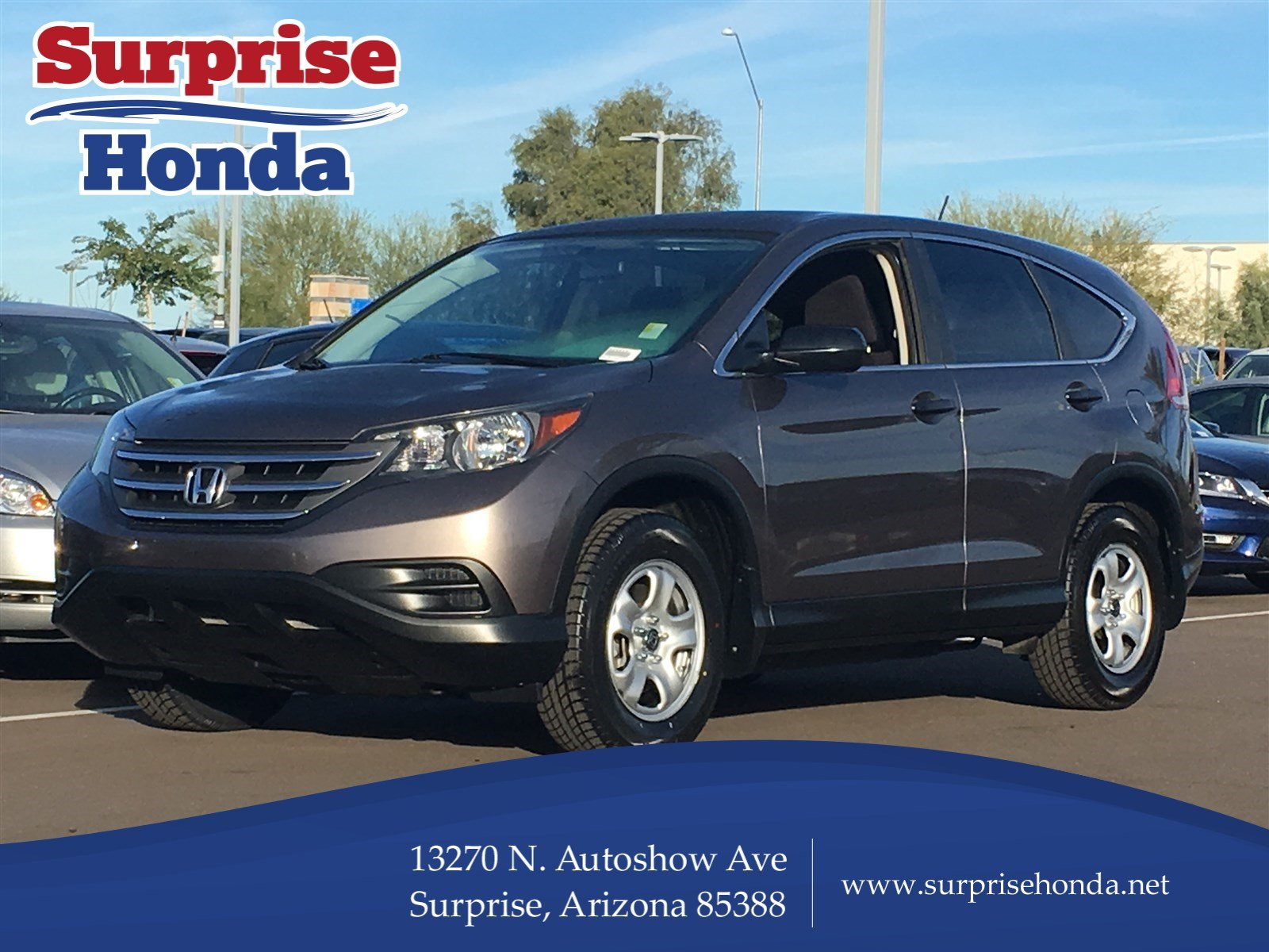 Pre owned 2013 honda cr v lx sport utility in surprise for Honda motor finance payoff phone number