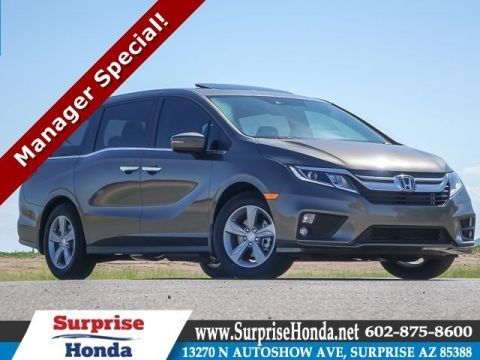 New 2018 Honda Odyssey EX-L w/Navigation and Rear Entertainment System